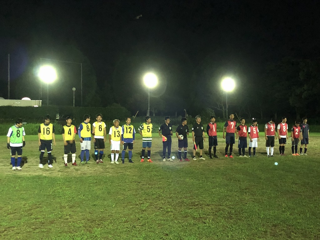 第7回UNNANリーグ 現在の試合結果