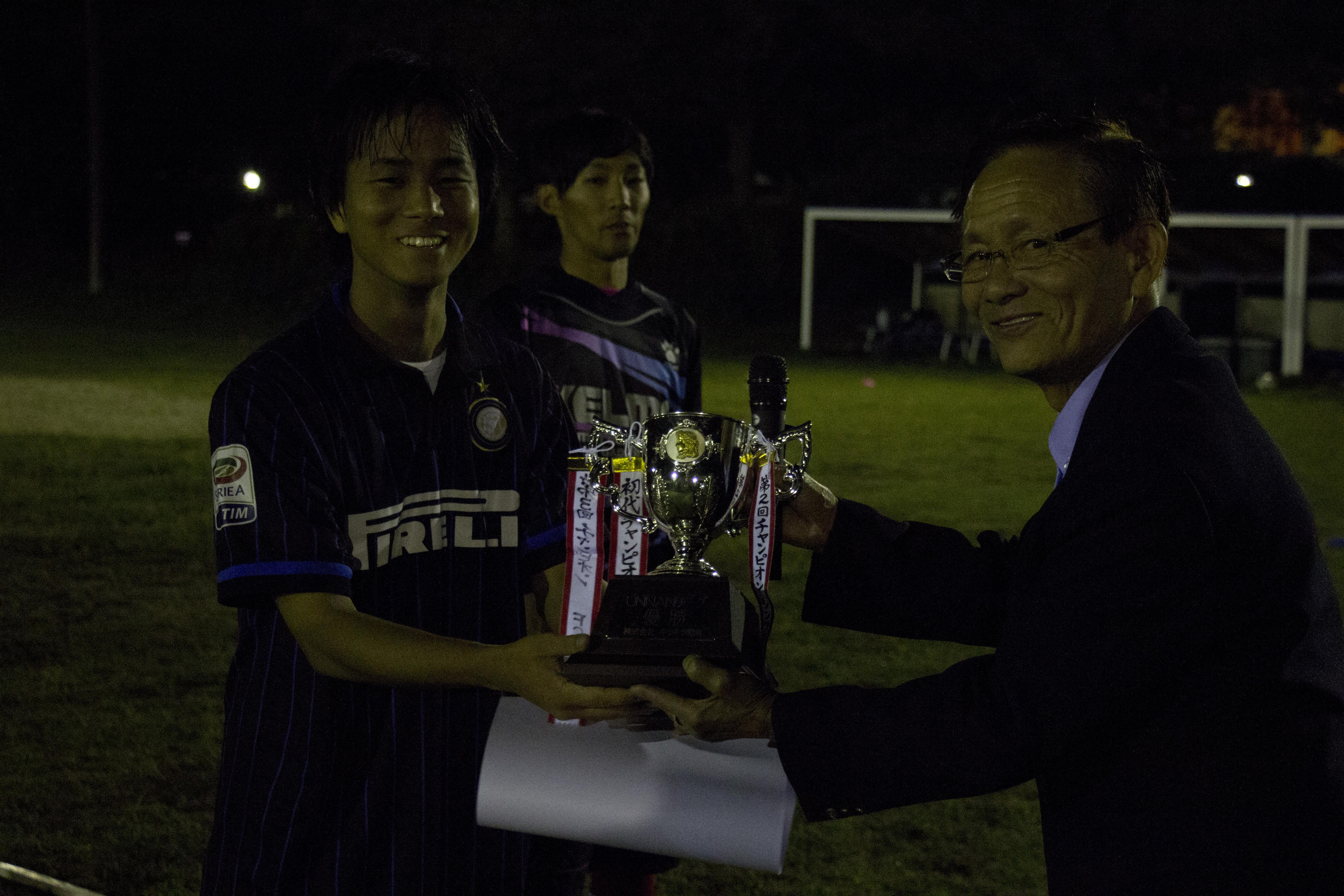 第4回UNNANリーグ閉幕!優勝チームは「FC雲南合庁」!!