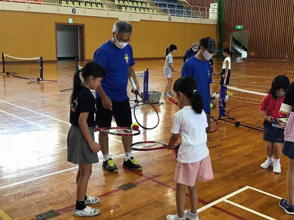 初心者でもテニスを楽しみました!「テニスフェスタinだいとう」